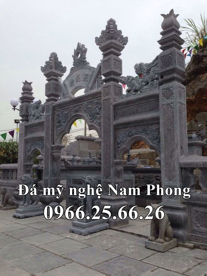 Cổng Đá ĐẸP - Cổng Đá Tam Quan ĐẸP Đá Mỹ Nghệ Nam Phong