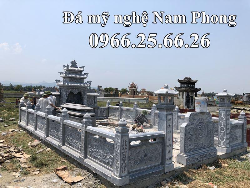 Lăng Mộ Đá - Mẫu Lăng Mộ Đá ĐẸP Nam Phong Năm 2020