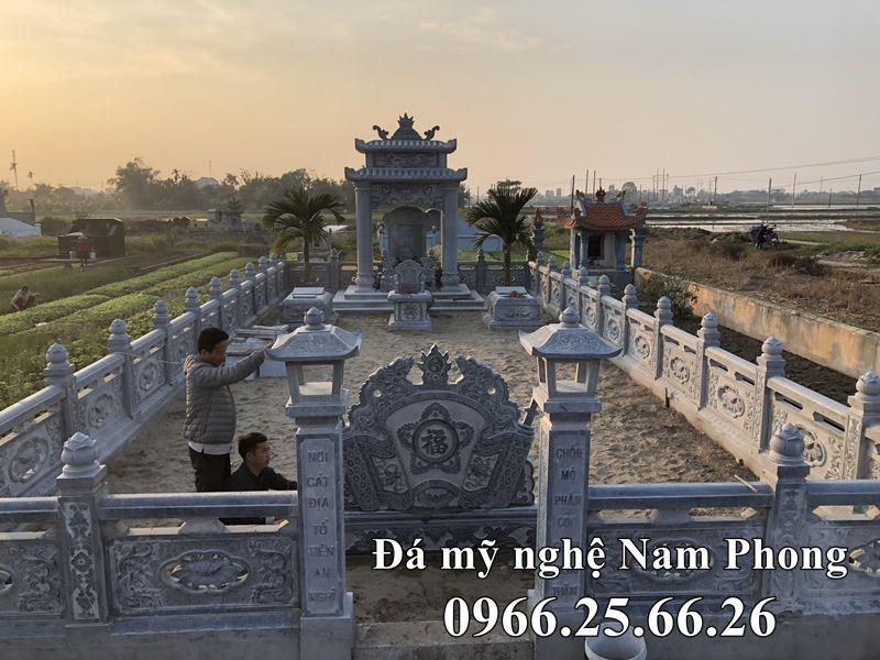 Mẫu Lăng Mộ Đá ĐẸP cao cấp Nam Phong