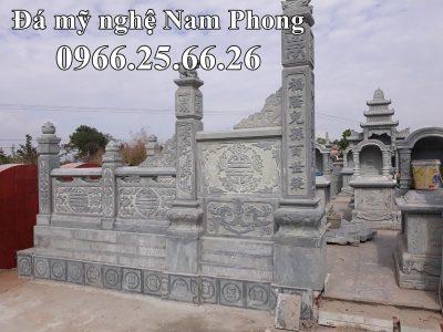 Lan can đá của Lăng mộ đá cao cấp Ninh Bình