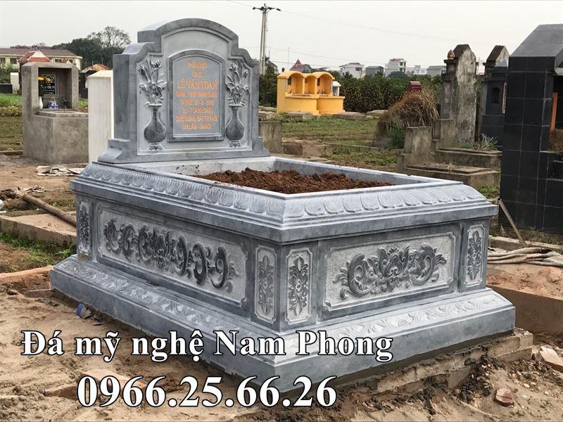 Mẫu Mộ Đá Tam Sơn ĐẸP - Mộ Đá Đẹp Nam Phong 2020