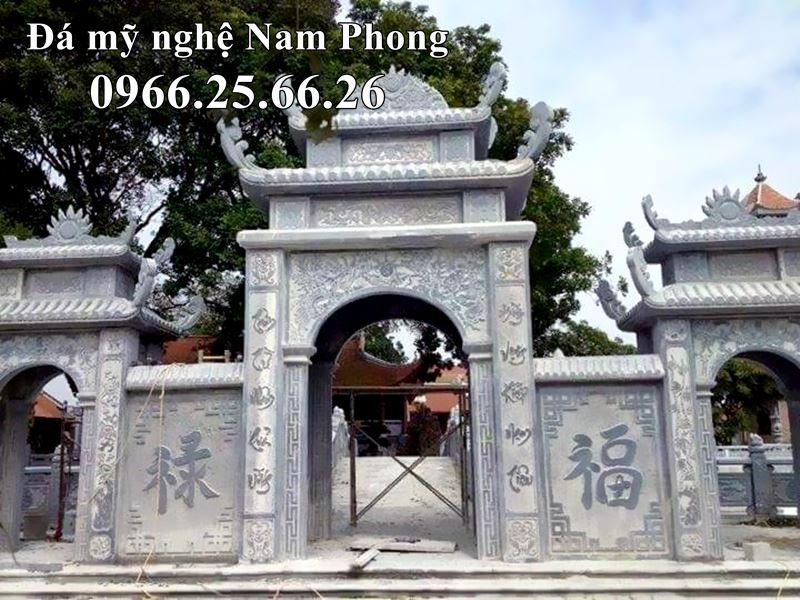 Cong Da Tam Quan DEP cao cap Nam Phong cho Dinh Lang