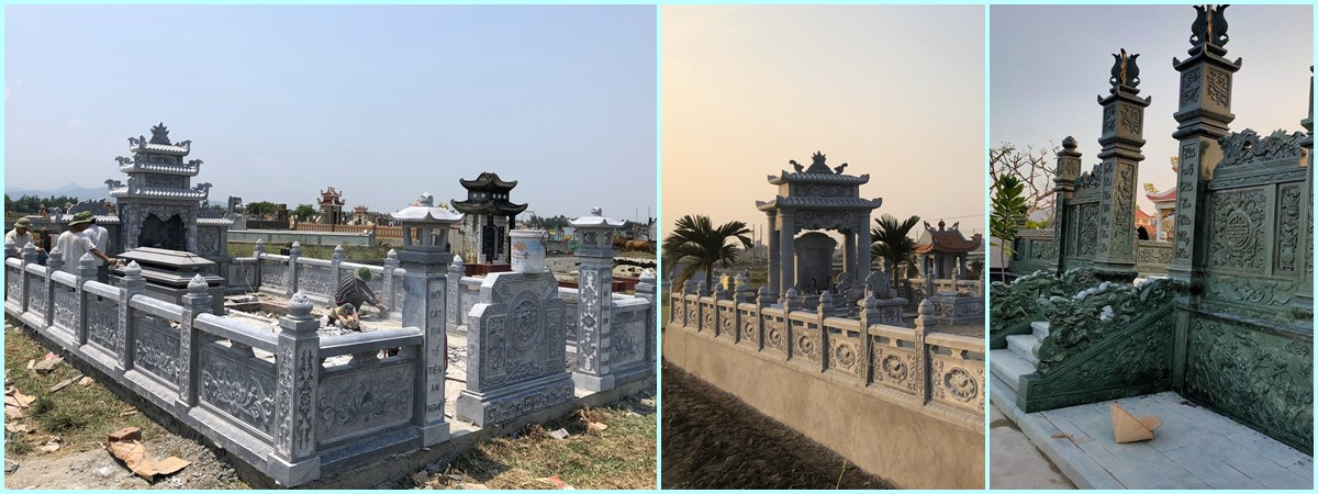 Lăng Mộ Đá, Khu Lăng Mộ Đá ĐẸP - Đá Mỹ Nghệ Nam Phong Ninh Bình
