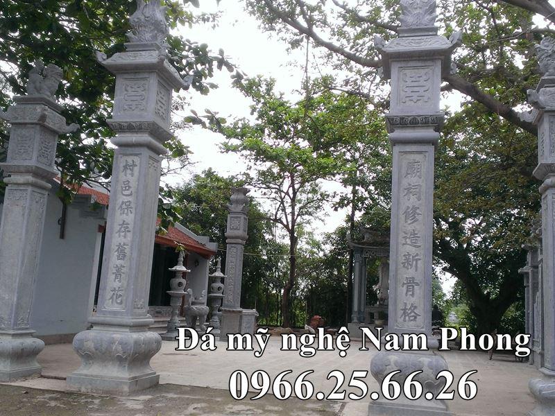 Mau Cot da DEP cho Dinh Lang - Nha Chua - Bao Dien