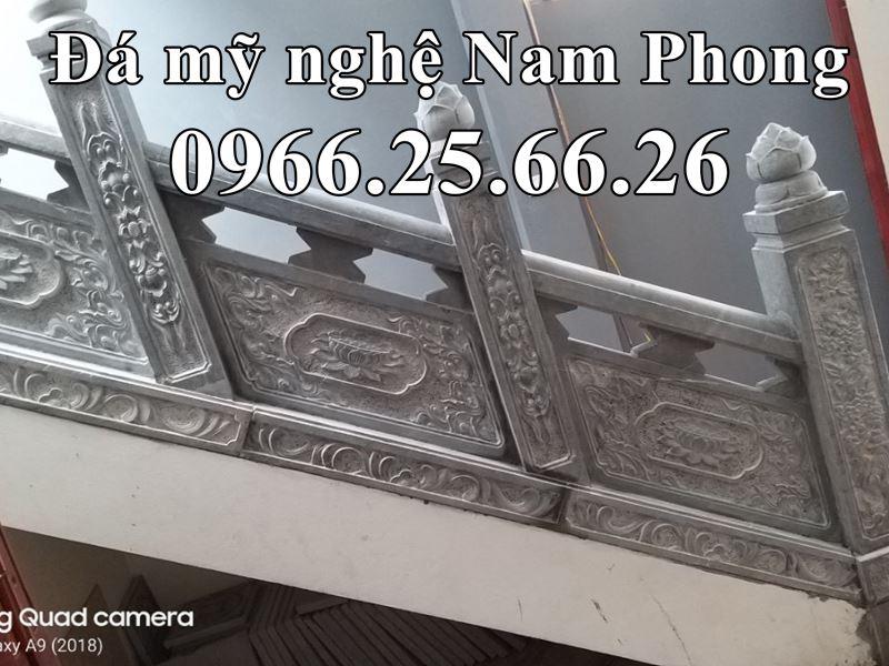 Mau Lan Can Da Hoa SEN dep cho Cau Thang Da cua Bao Dien