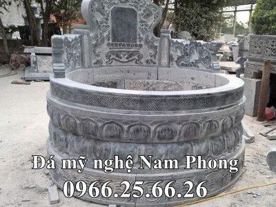 Mẫu Mộ Đá Tròn – Mộ Đẹp Cổ cách đây 500 năm tựa Đài SEN của Đá Mỹ Nghệ Nam Phong