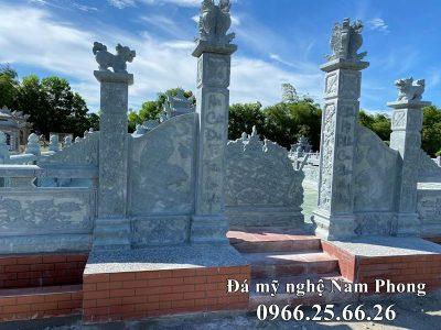 Khu Lăng mộ đá xanh đẹp Bát giác tại Nam Định
