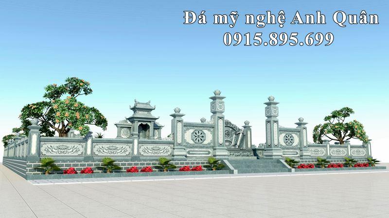 Phoi canh mat tien khu Lang mo