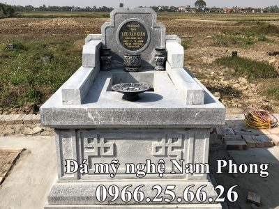 Mẫu Mộ đá Tam Sơn đẹp Ninh Bình – Mộ băm bạt chất lượng cao Giá Hợp lý
