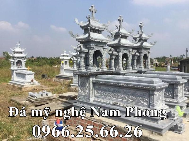 Mộ Công giáo đẹp tại Nam Định CÓ HAI MÁI ĐẶC TRƯNG