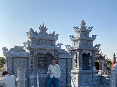 Mẫu Lăng mộ đá ĐẸP Trần Tộc – Lăng Đá đẹp Ninh Bình