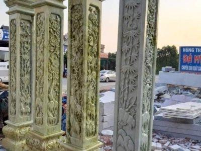Tổng hợp Mẫu Cột đá đẹp, Cột đá Nhà thờ – Đá Mỹ Nghệ Ninh Bình