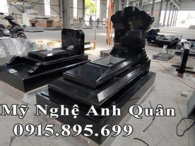 Tổng hợp Mẫu Mộ đá hoa cương (Mộ đá granite đẹp) tại Ninh Bình