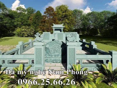 Thiết kế Lăng Mộ đá Gia đình đẹp (Mẫu Lăng đá Ninh Bình)