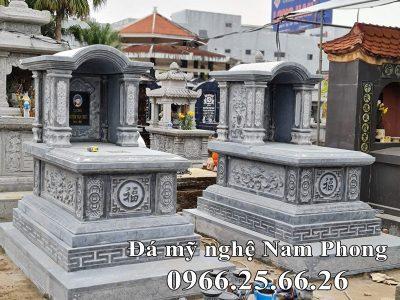 Mẫu Mộ đá mái vòm (mộ đá một mái vòm) đẹp Ninh Bình