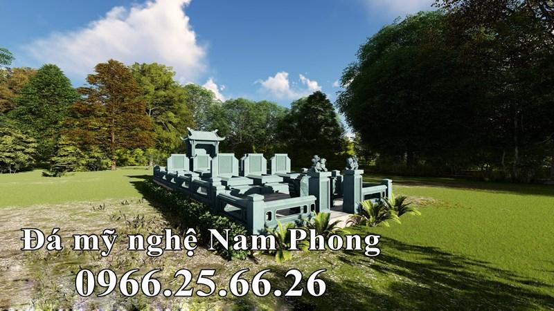 Mẫu Lăng mộ đẹp tại Thái Bình.