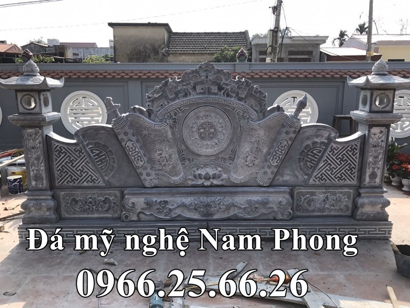 Binh Phong Da Cot Dep cho Nha Tho Ho - Da my nghe Ninh Binh