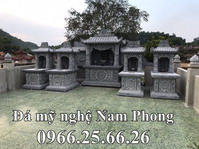 Mẫu Lăng đá gia đình Nguyễn Cửu (Lăng Mộ đá đẹp) Ninh Bình
