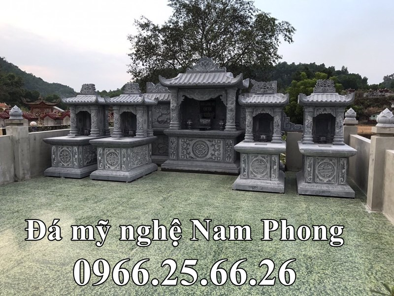 Khuon Vien ben trong Lang mo da Nguyen Cuu