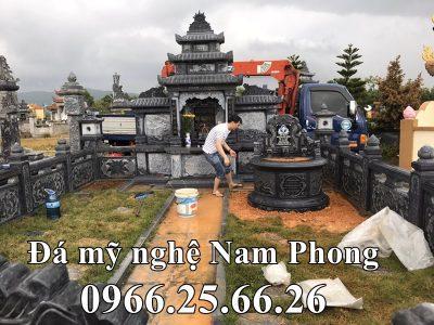 Lăng Mộ tròn đẹp cho Ông Bà, Bố Mẹ tại Ninh Bình giá chưa đến 300 triệu đồng