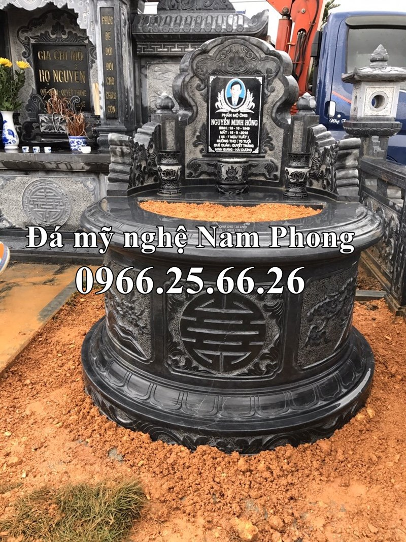 Mau mo da tron = trien co dep Ninh Binh